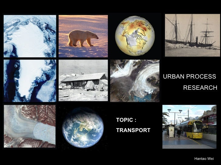 Urban Process Research: Transport | Biocity Studio
