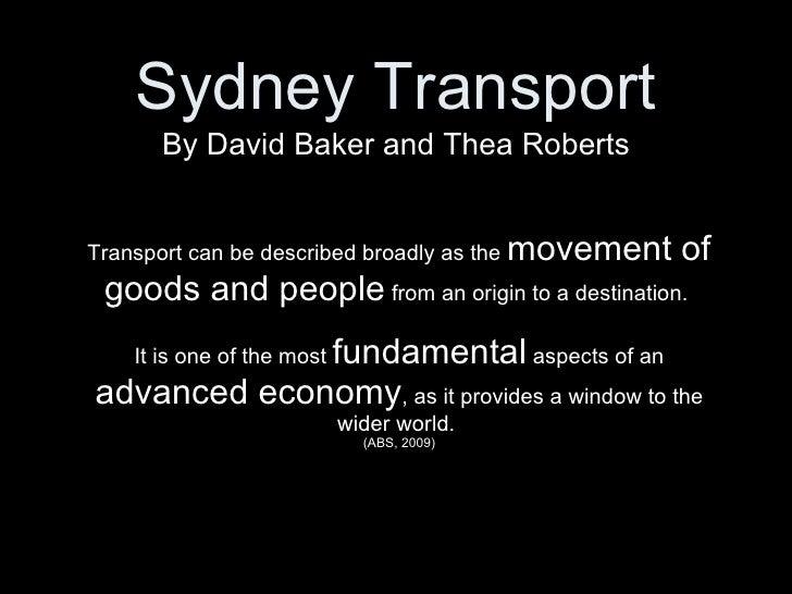 Sydney Transport - Victoria Road   Biocity Studio