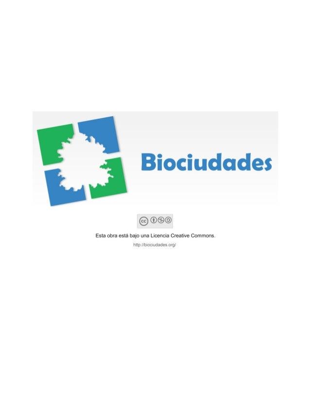 BIOURBANISMO: DISEÑO URBANO PARA LA CIUDAD SOSTENIBLEPorLuz Stella Velásquez BarreroProfesora Asociada de la Universidad N...
