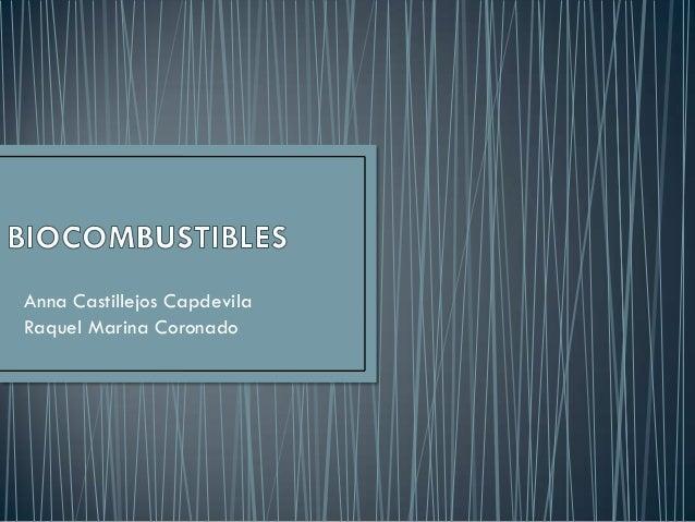Anna Castillejos CapdevilaRaquel Marina Coronado
