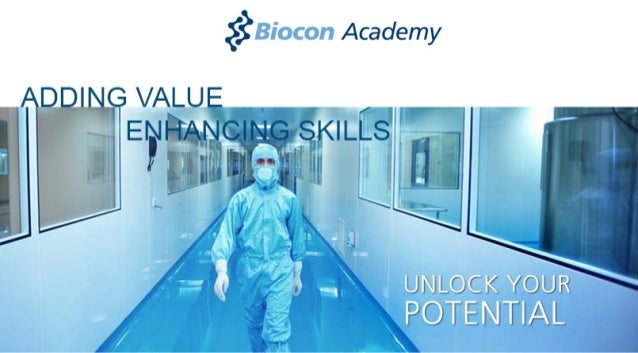 Launching Biocon Acadey - Adding Value Enhancing Skills