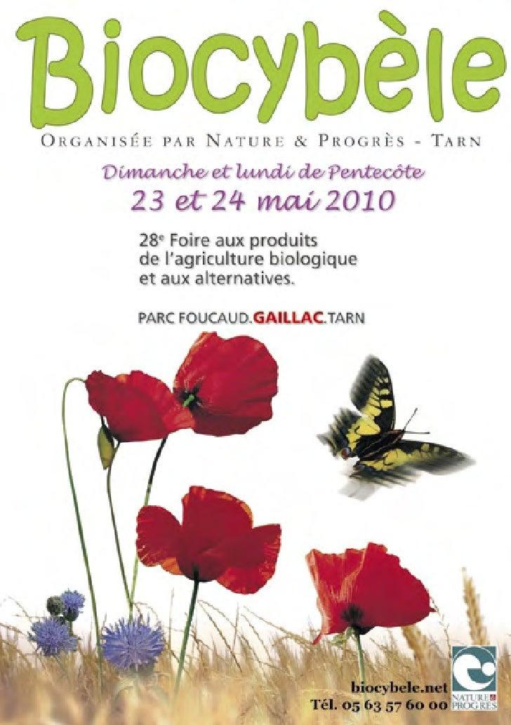 Biocybèle 2010 catalogue