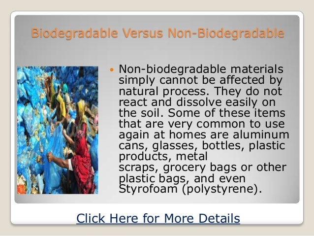 essay on biodegradable and nonbiodegradable Ritik Mathur's Paper on Non Biodegradable Waste
