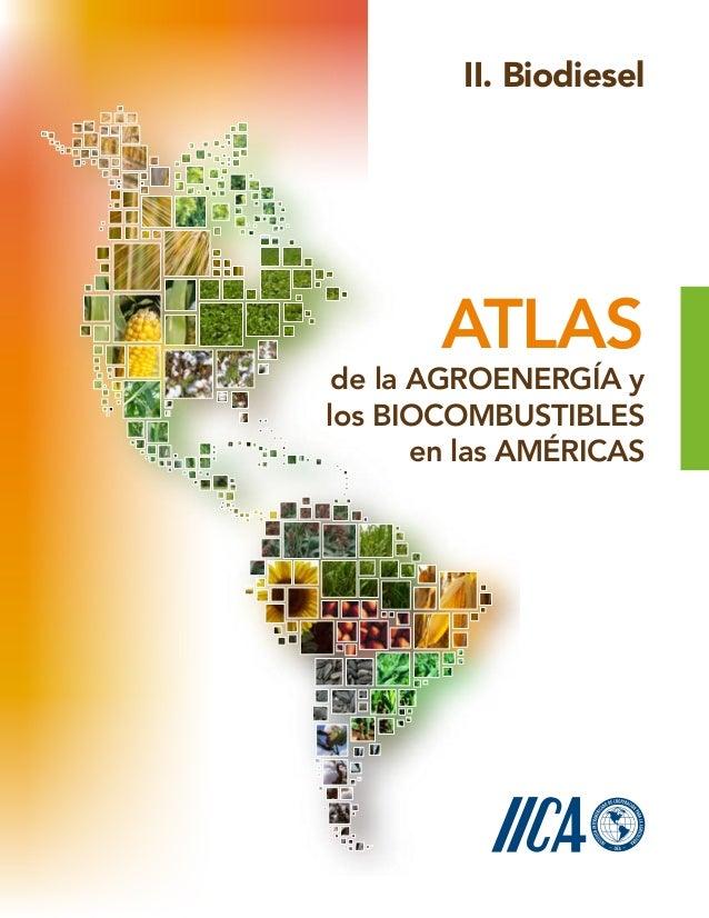 de la Agroenergía y los Biocombustibles en las Américas Atlas II. Biodiesel