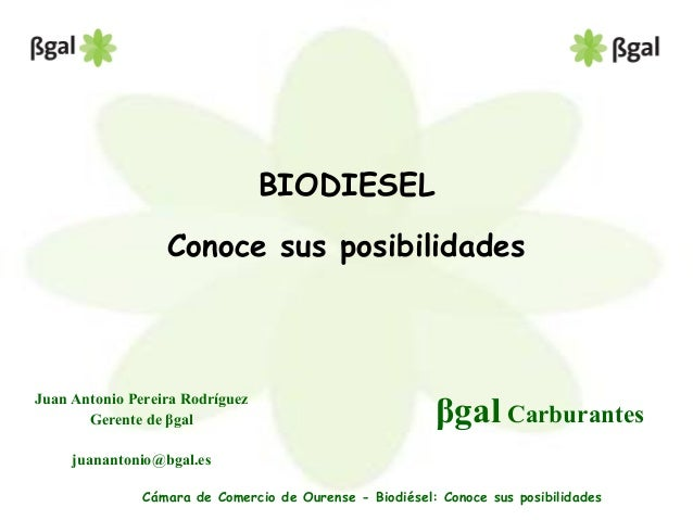Biodiesel posibilidades