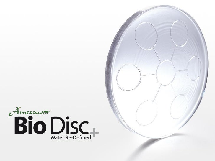 What is the Amezcua Bio Disc?  • Technically engineered natural minerals • Bonded in glass using high heat fusion   method...