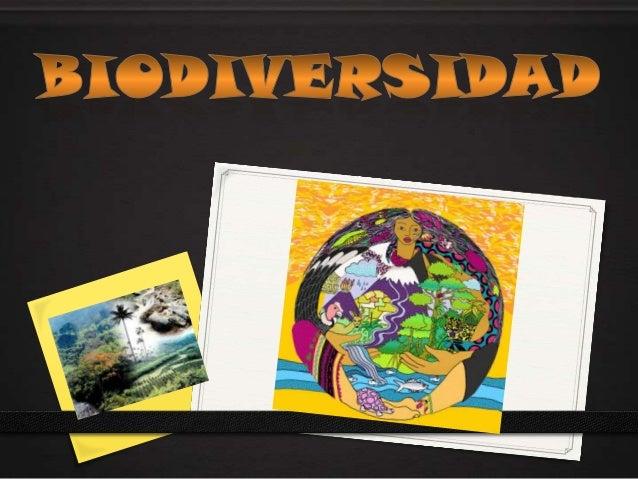 DEFINICION El término «biodiversidad» es un calco del inglés  «biodiversity». Este término, a su vez, es la  contracción ...