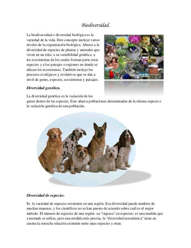 Biodiversidad.La biodiversidad o diversidad biológica es lavariedad de la vida. Este concepto incluye variosniveles de la ...