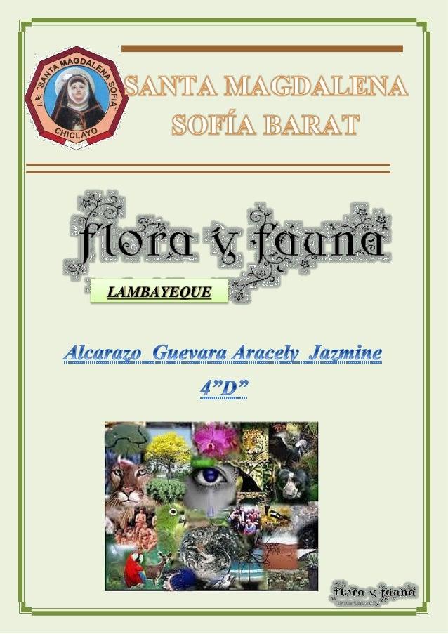 Biodiversidad de flora y fauna lambayecana