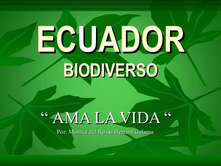 Ecuador Biodiverso