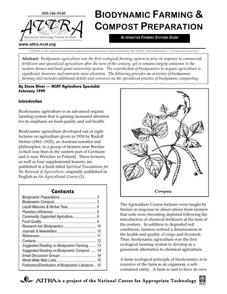 800-346-9140                                                                        BIODYNAMIC FARMING &                  ...