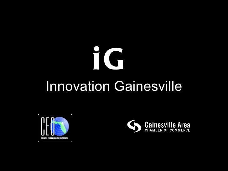 iG Innovation Gainesville