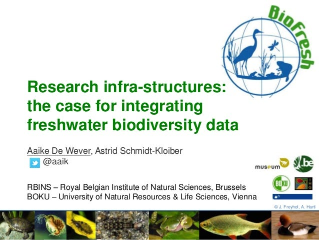 Research infrastructures: the case for integrating freshwater biodiversity data