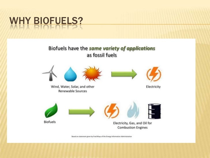 importance of biofuels Second-generation biofuels  in addition, higher alcohols have also lower heat of vaporization than ethanol, which is important for cold starts.
