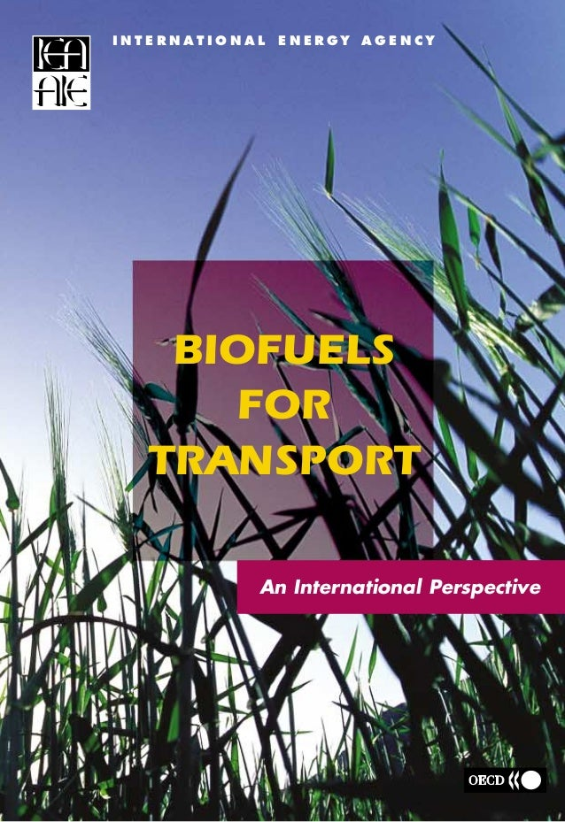 BIOFUELS FOR TRANSPORT I N T E R N A T I O N A L E N E R GY A G E N C Y BIOFUELS FOR TRANSPORT In the absence of strong go...