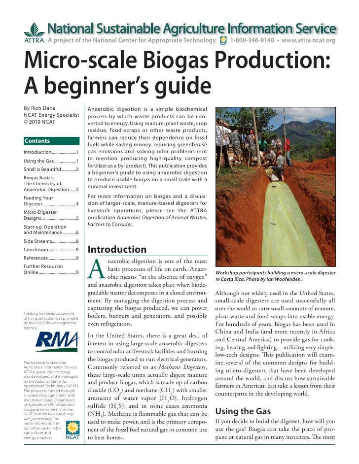 Micro-scale Biogas Production: A Beginner's Guide