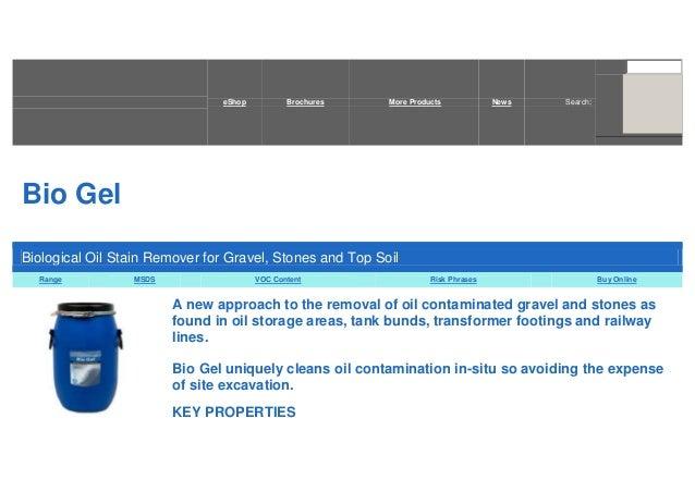 BIO GEL from Oil Technics Ltd.