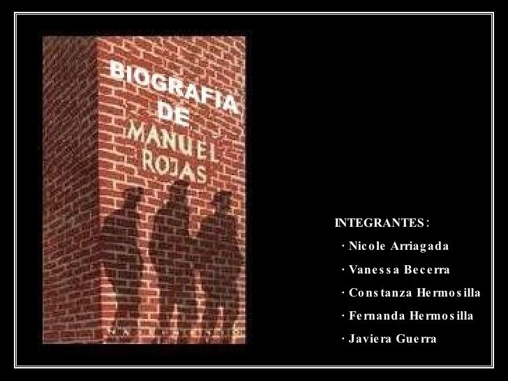Biografia de Manuel Rojas