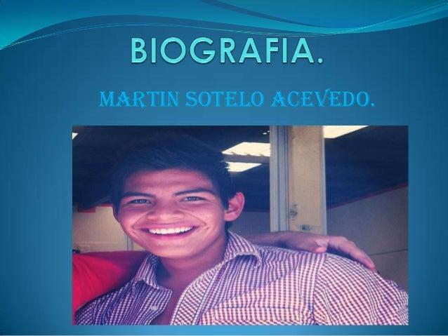 MARTIN SOTELO ACEVEDO.