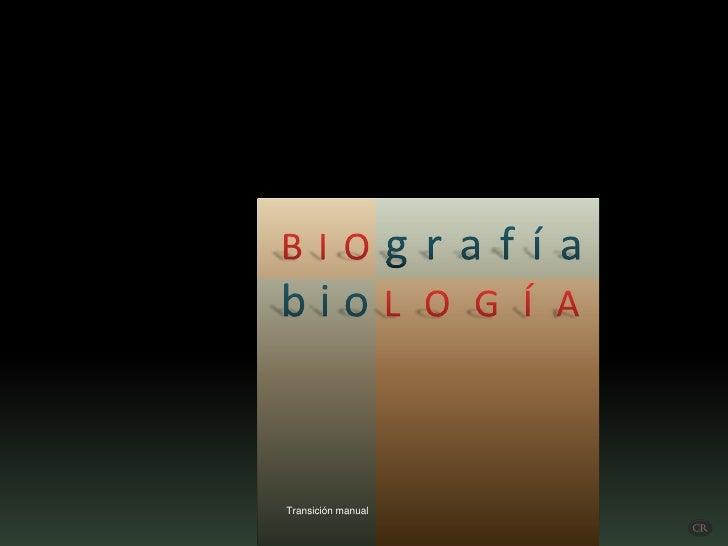 Biografia biologia
