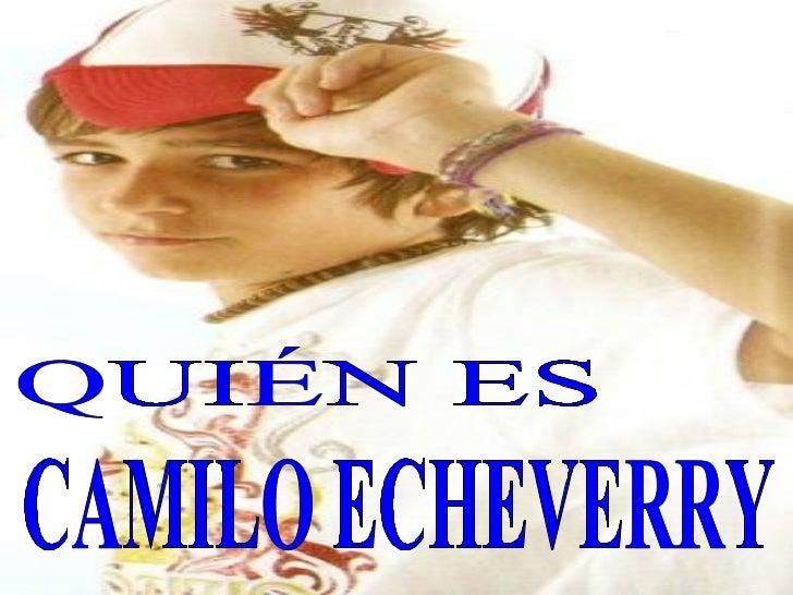 Biografia Camilo Echeverry Correa