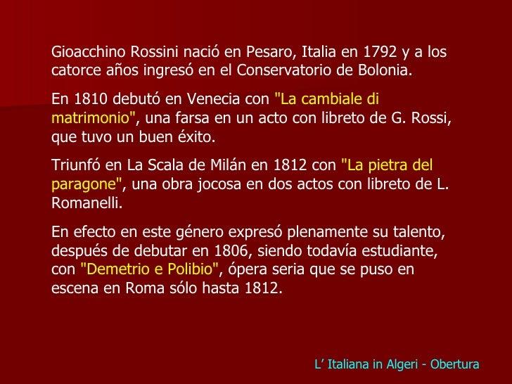 Gioacchino Rossini - Los Machucambos Les Machucambos Panorama Musical Jmf 1