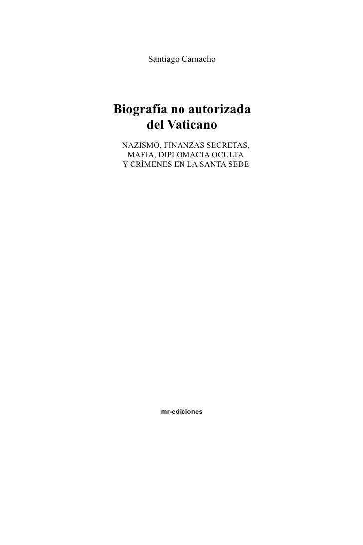 Biografia no-autorizada-del-vaticano-santiago-camacho