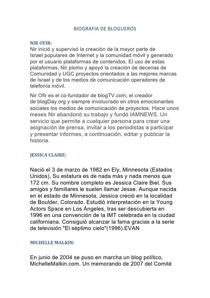 BIOGRAFIA DE BLOGUEROSNIR OFIR:NirinicióysupervisólacreacióndelamayorpartedeIsraelpopularesdeInternetylac...