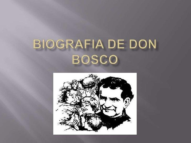    Juan Melchor Bosco o Don Bosco (en italiano Giovanni    Melchiorre Bosco) (I Becchi, 16 de agosto de 1815 -     Turín,...