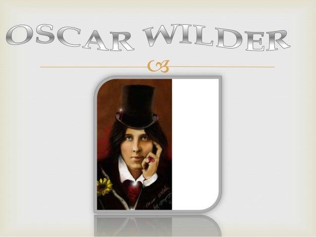 Biografia de Oscar Wilder