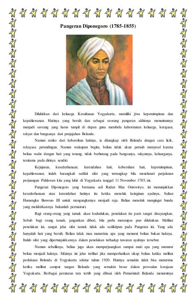 Biografi Pangeran Diponegoro Dan Ki Hajar Dewantara