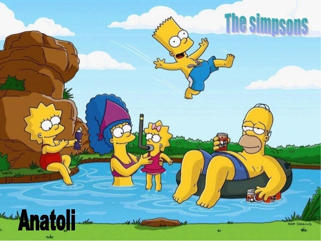 The SimpsosnThe Simpsons familyis composed by 5people : Bart thebrother, Lisa thesister, Maggie thebaby, Homer te fathera...