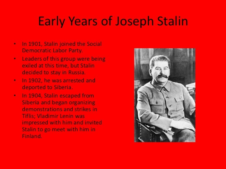 a biography of the life and times of joseph stalin Joseph stalin and ekaterina svanidze  in 1932 stalin's children lost their  mother, and he became a widower for the second time.