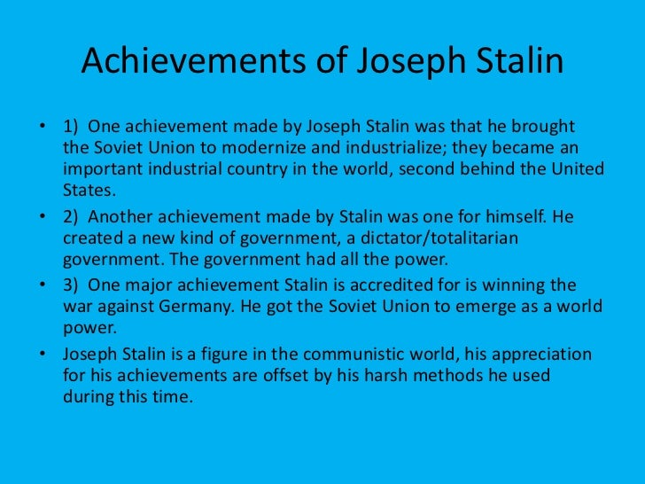a biography of joseph stalin and an overview of his career