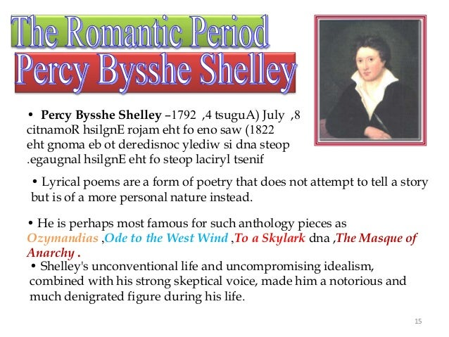 ode to the west wind by percy bysshe shelley essay
