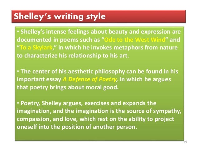 a written report of shelley's ode Mary wollstonecraft shelley wrote frankenstein when she was she pretty much   ode to the west wind manuscript, percy bysshe shelley source: castlekeys   essay writing services offer by essay bureau is are very much affordable that.
