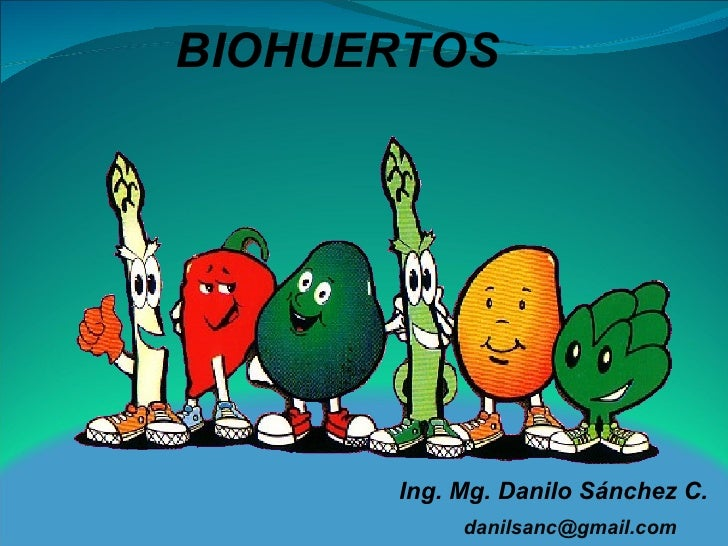 BIOHUERTOS Ing. Mg. Danilo Sánchez C. [email_address]