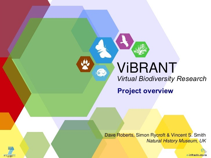 ViBRANT—Virtual Biodiversity Research and Access Network for Taxonomy