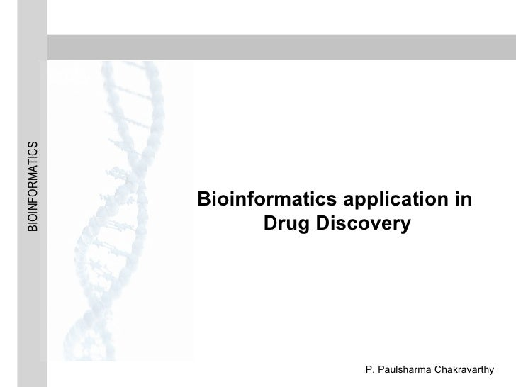 Bioinformatics application in Drug Discovery
