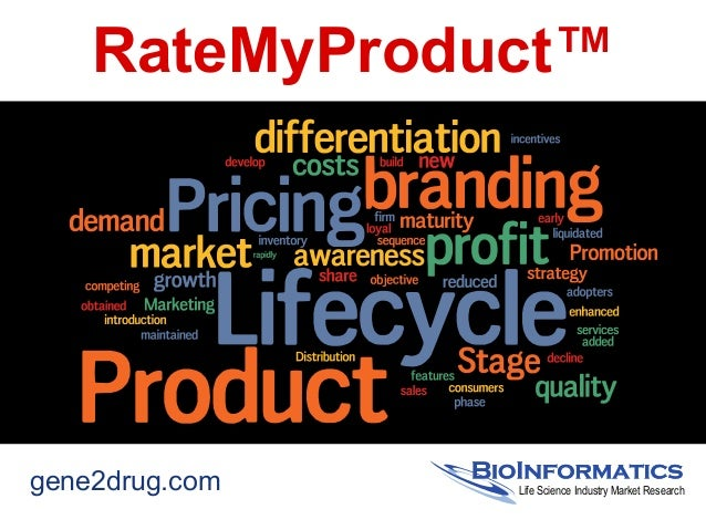RateMyProduct™gene2drug.com Life Science Industry Market Research