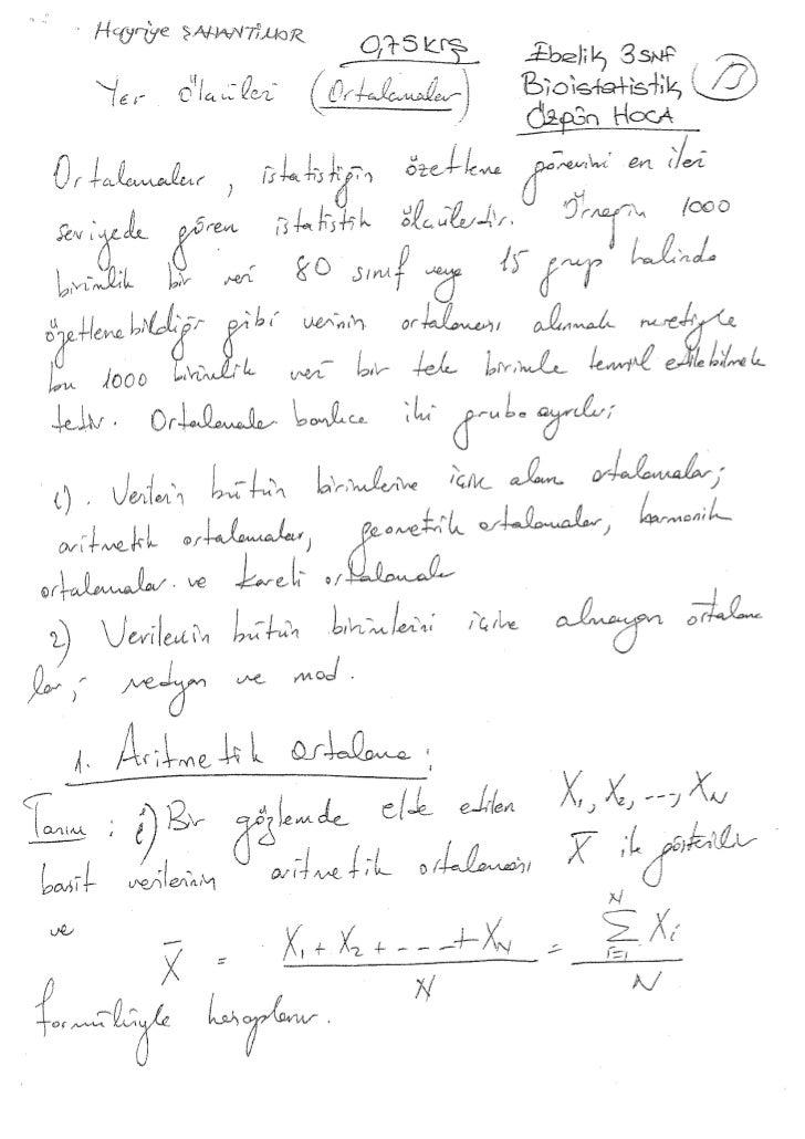 Bioistatistik (2)