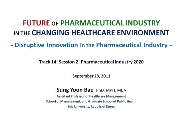 innovation in the pharmaceutical industry Tufts csdd r&d cost study   innovation in the pharmaceutical industry: new estimates of r&d costs journal of health economics 201647:20-33 march 2,.