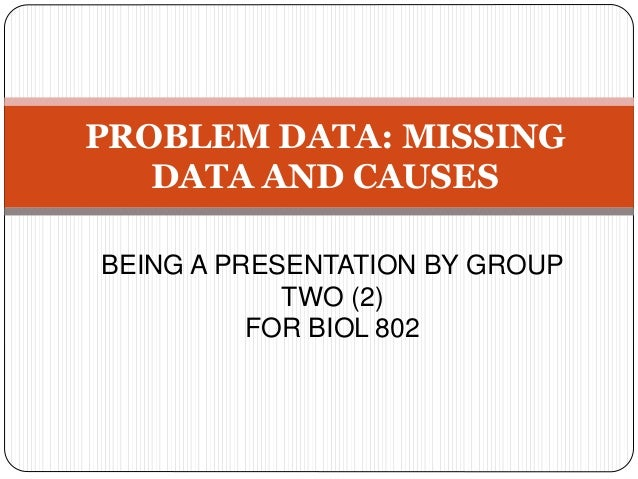 statistical techniques for handling missing data Due to recent theoretical findings and advances in statistical computing, there has been a rapid development of techniques and applications in the area of missing data analysis statistical methods for handling incomplete data covers the most up-to-date statistical theories and computational methods .