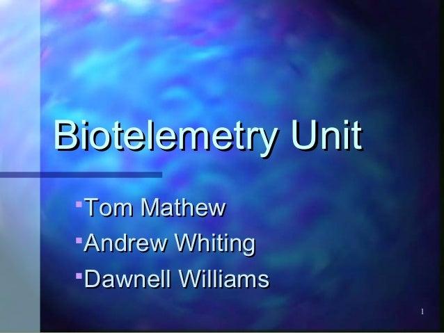 Biolelemetry1