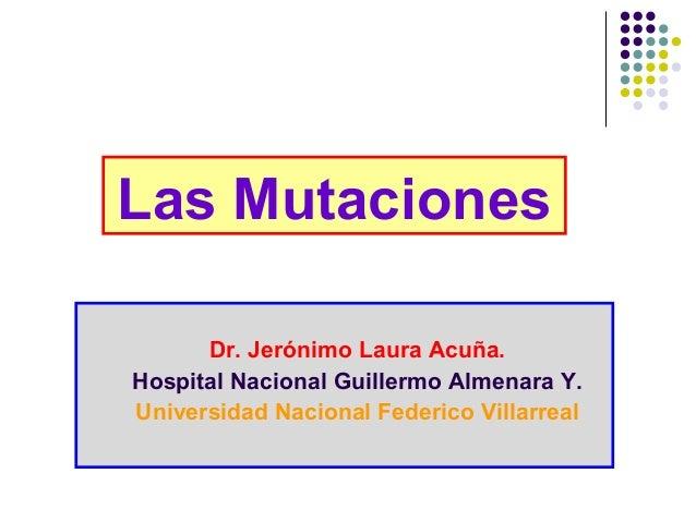 Biología de Mutaciones
