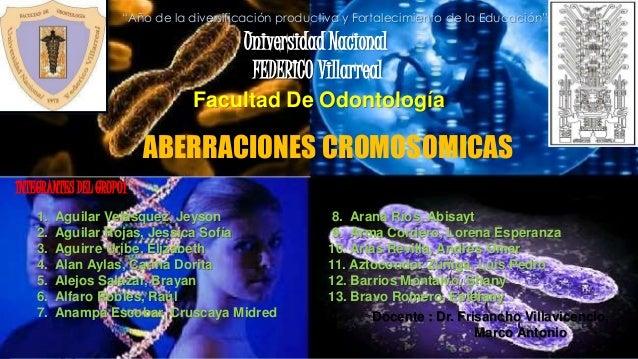"""Universidad Nacional FEDERICO Villarreal Facultad De Odontología """"Año de la diversificación productiva y Fortalecimiento d..."""