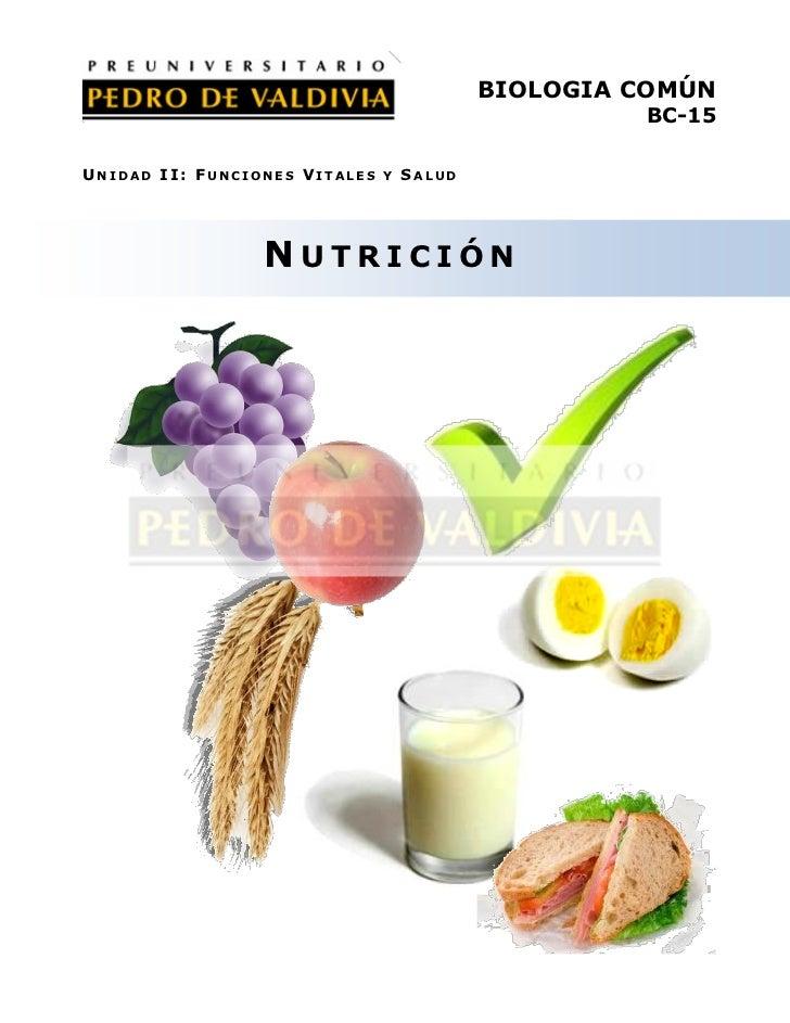 PDV: Biolgía Guía N°15 [4° Medio] (2012)