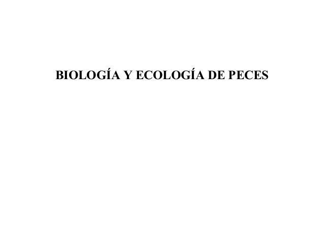 Biologia de peces