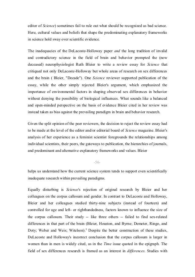 Sample Critical Essay on Nature vs. Nurture