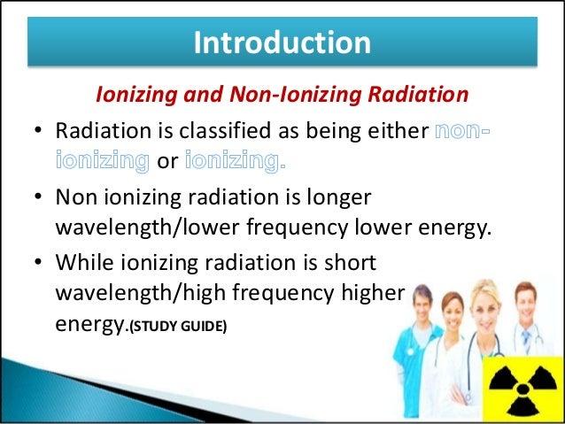 Types of ionizing radiation?
